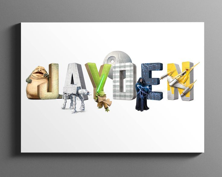 Star Wars Name Art / Personalised Name Plaque / Star Wars Baby / Baby Name Print / Nursery Name Sign / Baby Name Sign / DIGITAL DOWNLOAD by AdventurousType on Etsy https://www.etsy.com/uk/listing/565519609/star-wars-name-art-personalised-name