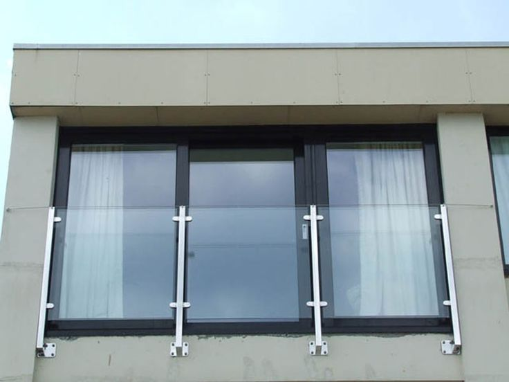 stainless steel glass railing designs for balcony - Google Search