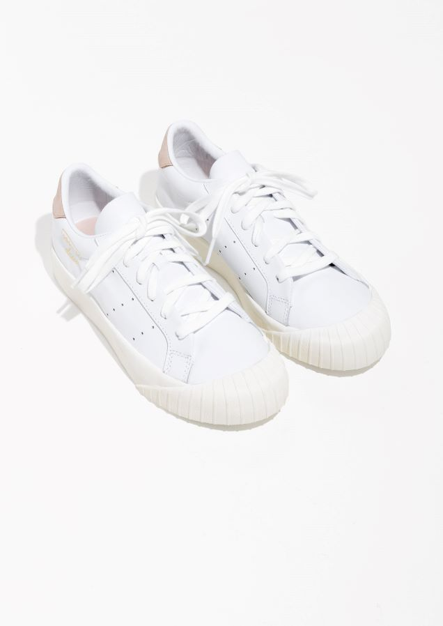 promo code 9e598 84c51 Other Stories image 2 of adidas Everyn Sneaker in White