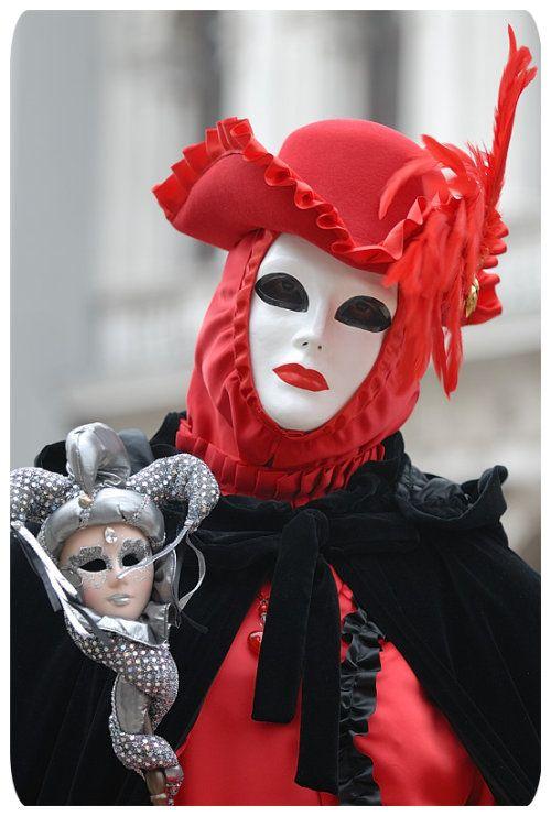 Venetian carnival costumes