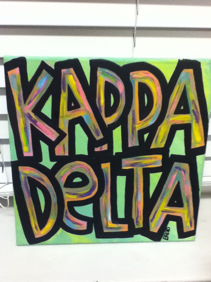 Kappa Delta Colorful