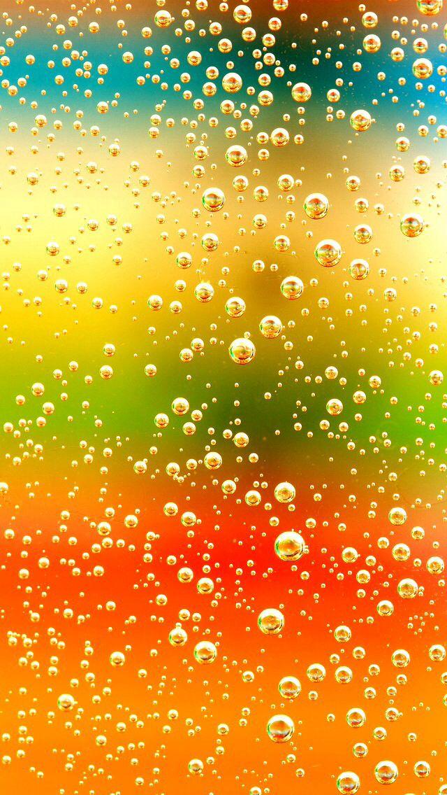 Bubbles Bokeh Glitter, Sparkle, Glow Phone Wallpaper