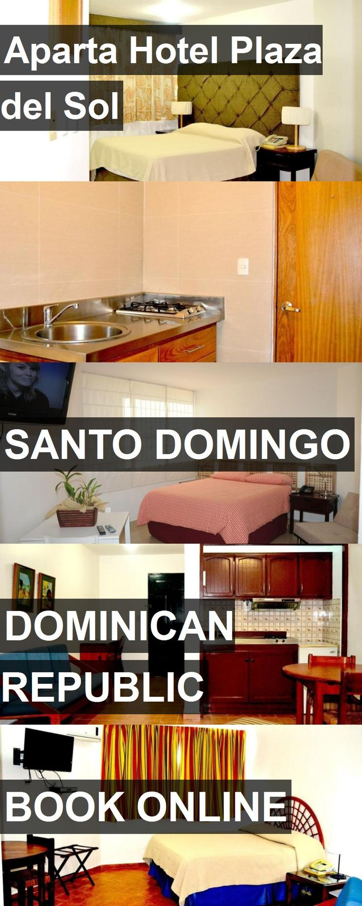 Aparta Hotel Plaza del Sol in Santo Domingo, Dominican Republic. For more information, photos, reviews and best prices please follow the link. #DominicanRepublic #SantoDomingo #travel #vacation #hotel