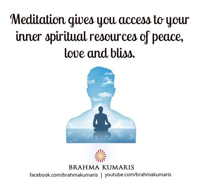 Omshantiworld Brahma Kumaris Meditation In 2020 Om Shanti Quotes Meditation Brahma Kumaris