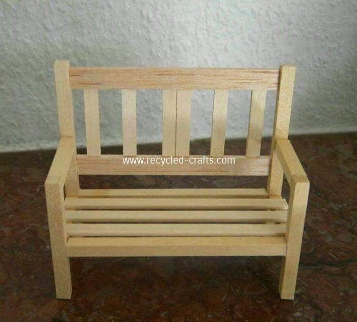 Miniature Furniture, Miniature Garden Furniture Uk