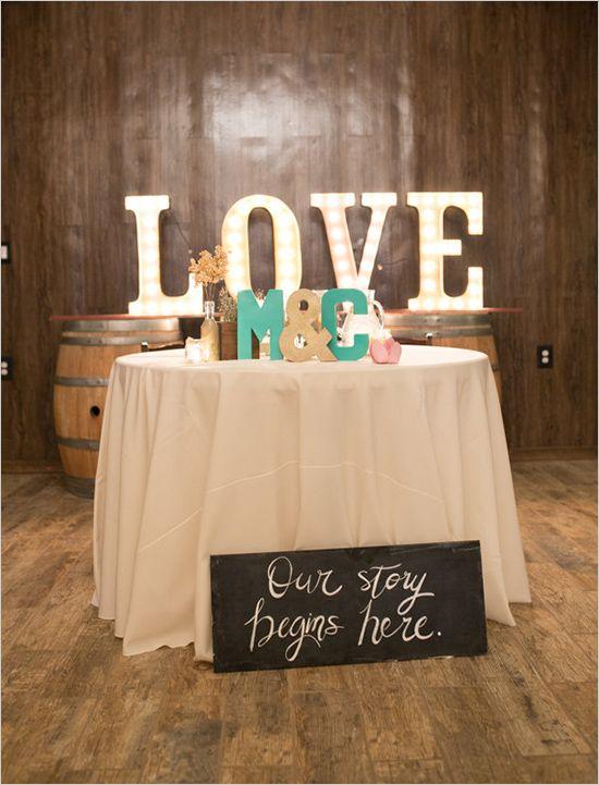 21 best libro de firmas images on pinterest wedding inspiration rustic mint and gold wedding m4hsunfo