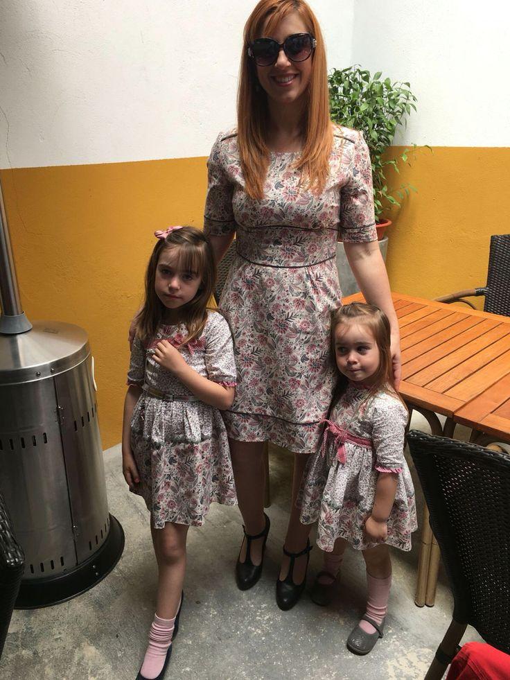 No a todo el mundo le gusta  vestir a las hermanas iguales, pero a mí me encanta, tanto que de vez en cuando hasta la mama se apunta 😄