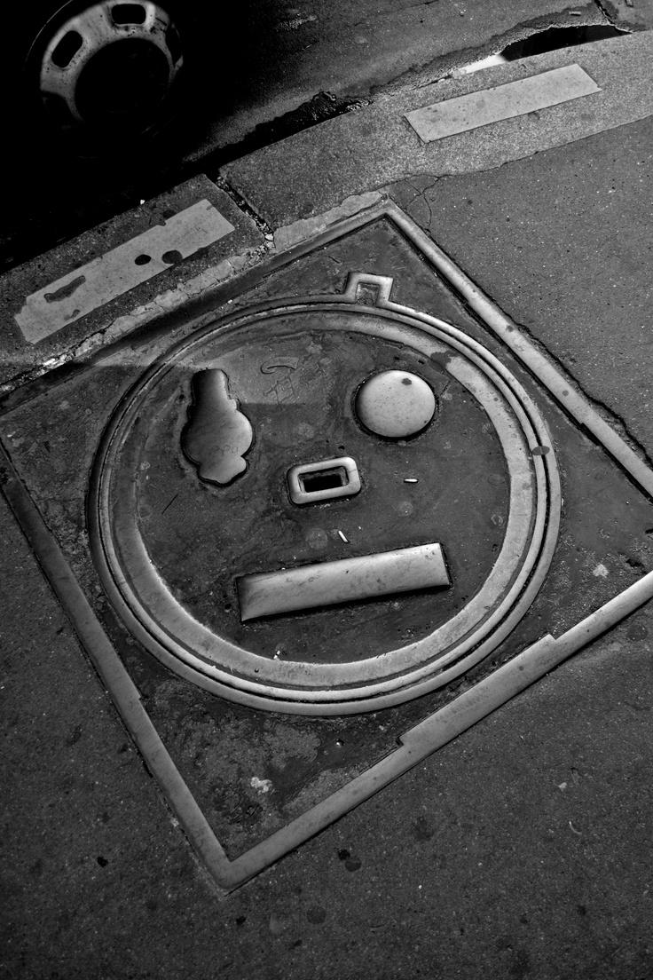 Parisian Manhole