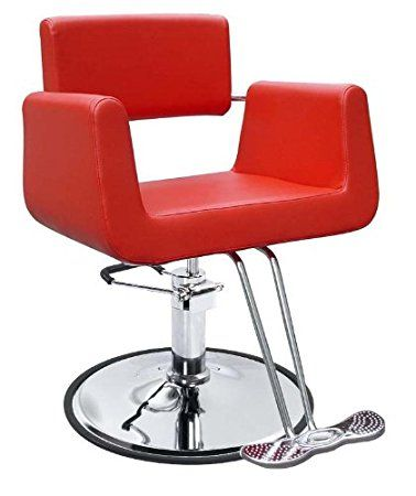 New Red Modern Hydraulic Barber Chair Styling Salon Beauty Spa Supplier 69R Review