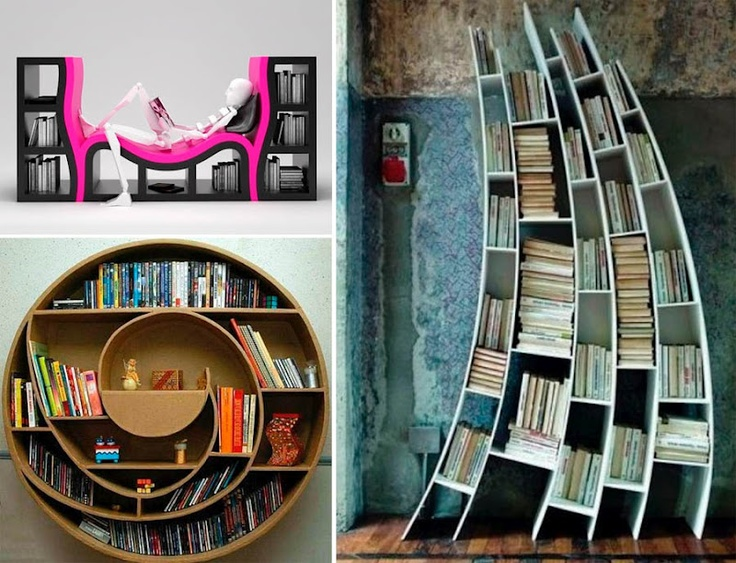 Best Bookshelves Collection Images On Pinterest Bookshelves - Bookworm bookcase sit and relax surrounding by your favorite books by atelier 010