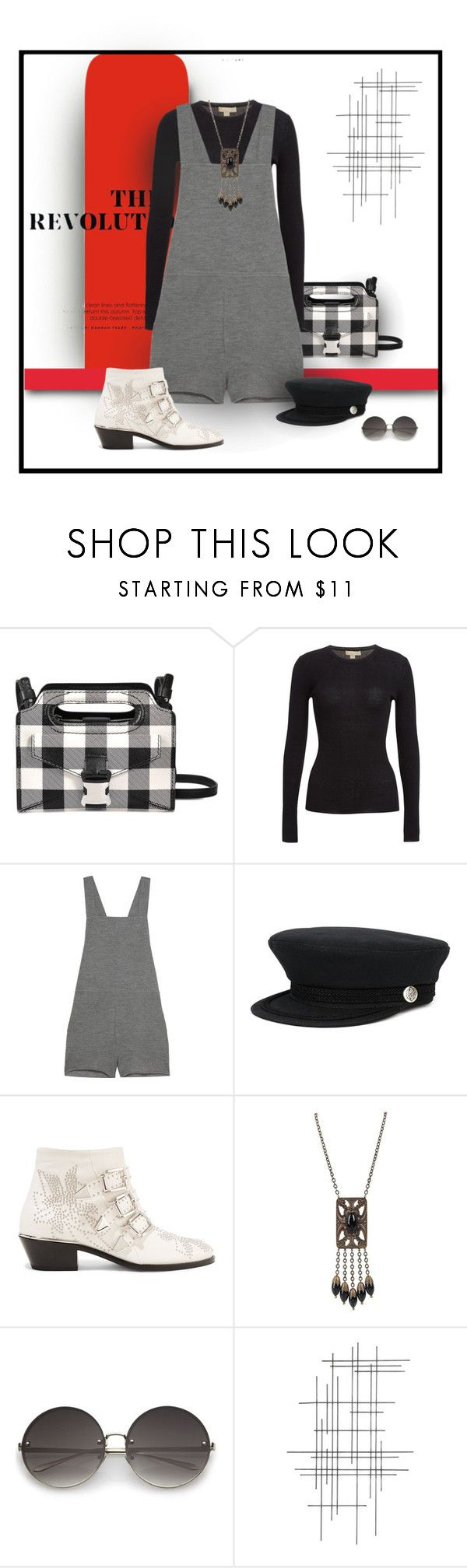 """Stud-Muffin"" by michelletheaflack ❤ liked on Polyvore featuring Christopher Kane, Michael Kors, The Elder Statesman, Valas, Chloé, Crate and Barrel, chloe and styleinsider"