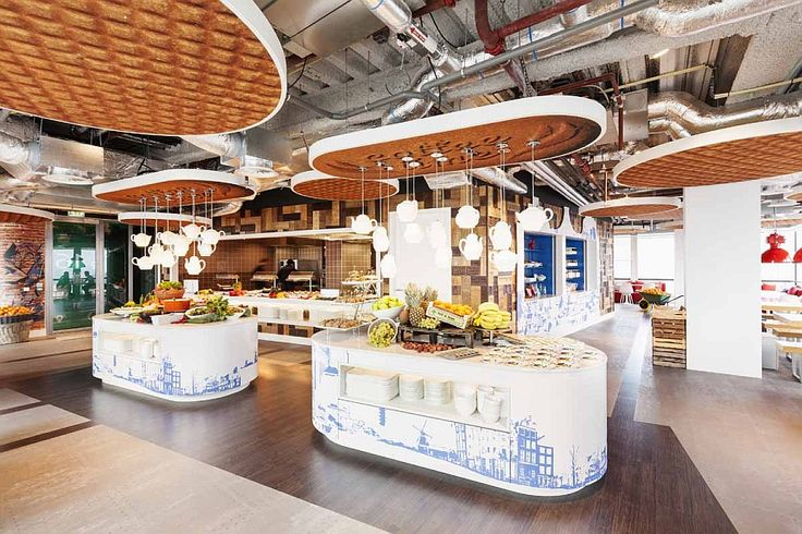 Google Amsterdam Office Kitchen Looks Like A Scene From Alice In Wonderland