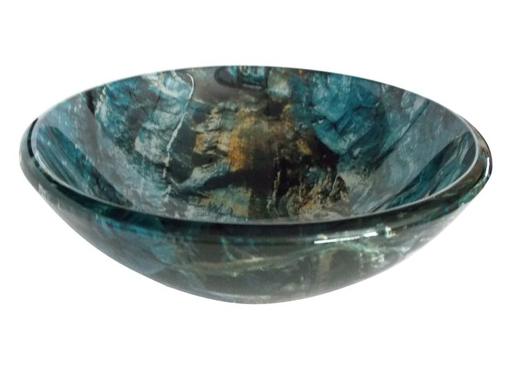 Glass Vessel Sinks | From Just $65-Cliffside Glass Vessel Sink    Eden Bath $180 USD