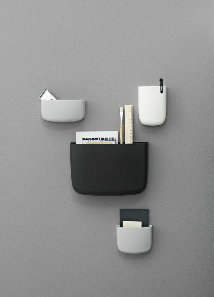 Pocket Organizers designed by Simon Legald for Normann Copenhagen - Content Curator #scandinaviandesign