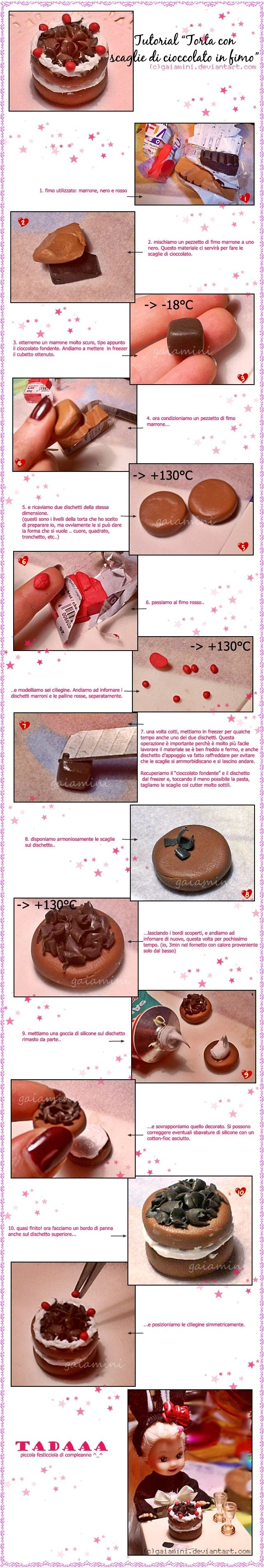 tutorial scaglie di cioccolato by gaiamini.deviantart.com on @deviantART