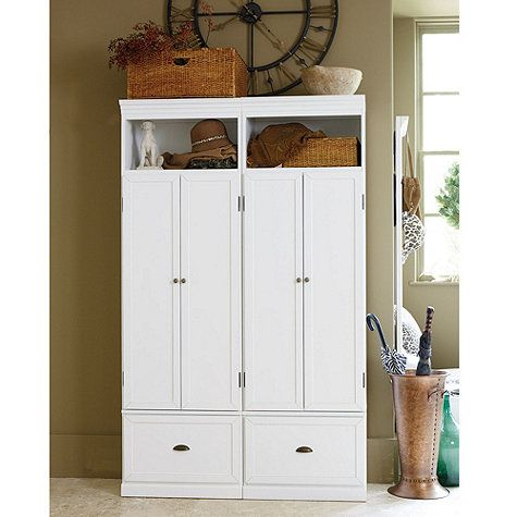 Owen Entryway Cabinets | these are individual pieces, we could put 3 in a row, I think this is absolutely perfect!
