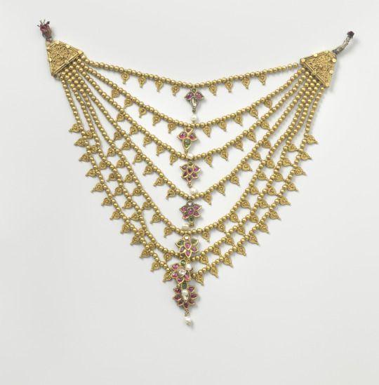 Necklace c.1750 Surat, India Rijksmuseum
