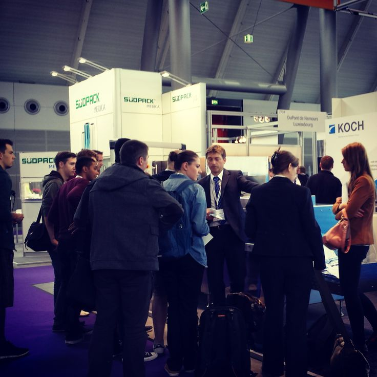 #kochindustries demonstrating at #medteceurope #medteclive