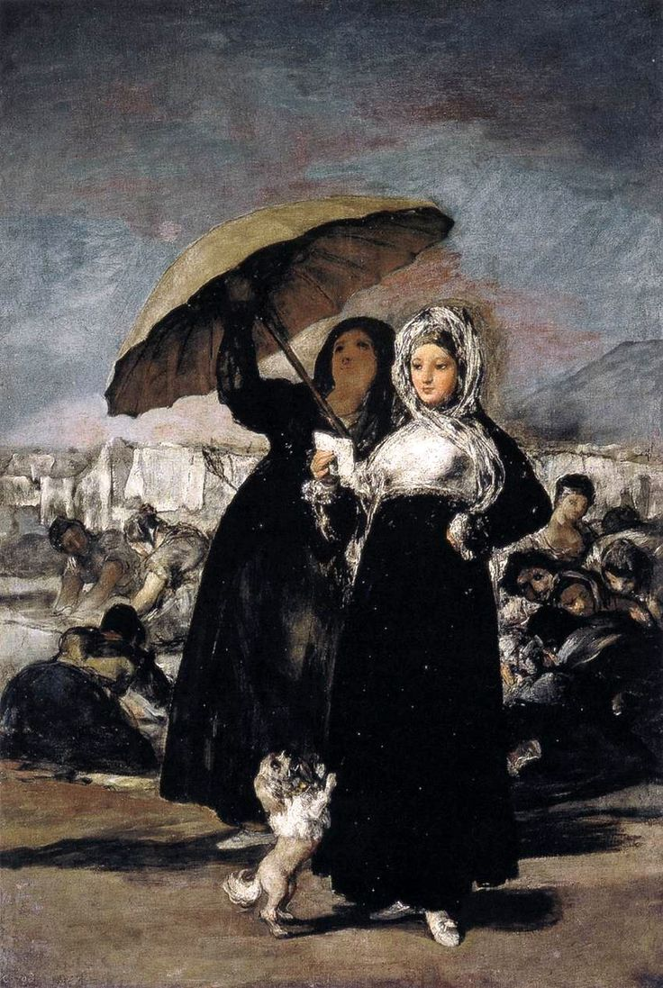 Young Woman with a Letter - Francisco Goya