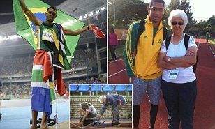 South Africa's Wayde van Niekerk gave an incredible performance tonight in the Olympic Stadium as he smashed the 400m world record that had been held by US runner Michael Johnson for 19 years.