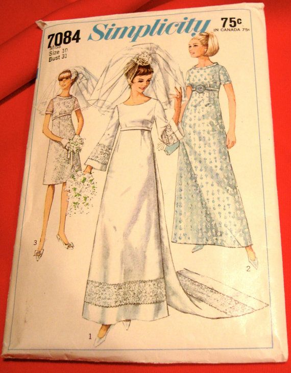 17 best images about sewing patterns for women 39 s fashion for Empire waist wedding dress patterns
