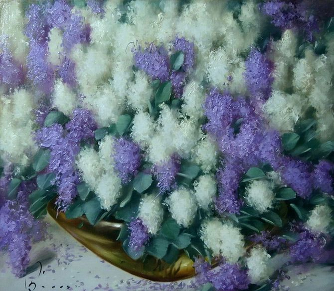 Flower Paintings by Buiko Oleg - AmO Images - AmO Images