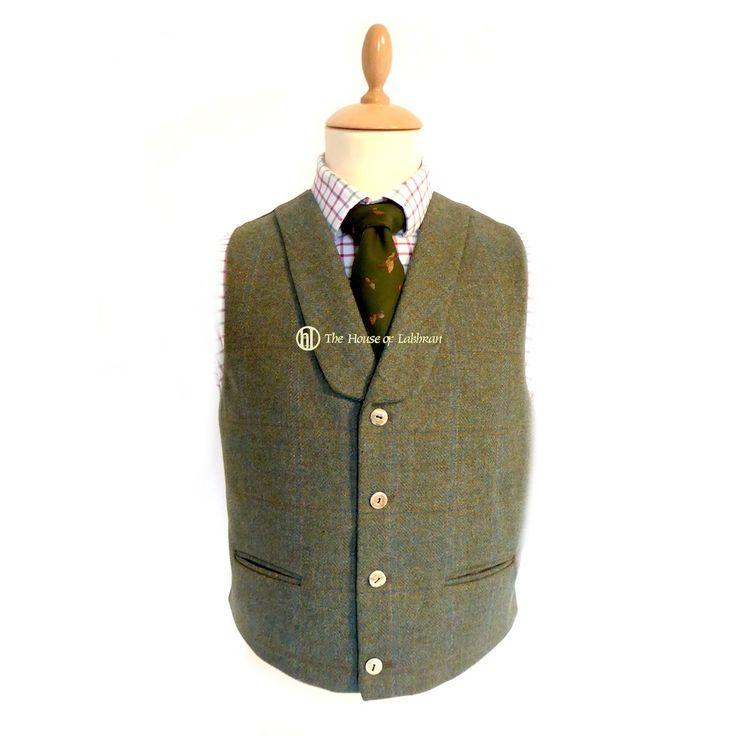 Rothesay Scottish Tweed Argyle Kilt Jacket & Waistcoat
