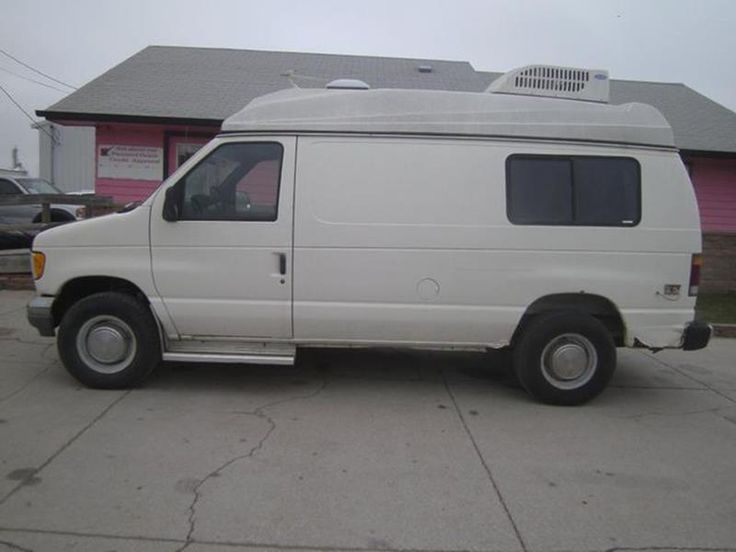 This 1992 Ford E-350 is listed on Carsforsale.com for $3,495 in Fremont, NE. This vehicle includes Power Steering,Anti-Lock Brakes,Variable Wipers,Third Passenger Door,Diesel Fuel