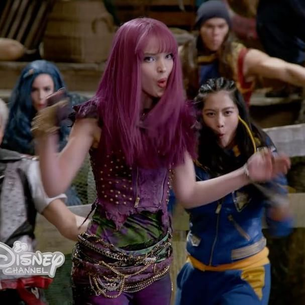 """""""Put 'Em Up"""" – the swords are drawn in the #Hamilton inspired battle. #NewMusicFriday #Descendants2"""