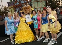 Disney Princess 5k! feb every year..got Emma for a 5k now to get all four of us in this!!