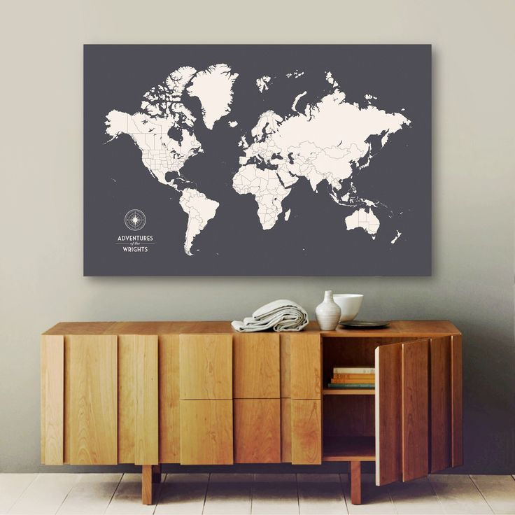 Definitely need this in my life :) Push Pin Travel Map, Push Pin World Map, Pin Map, Custom Map, World Travel Map, World Map Canvas, Push Pin Map, Large World Map, Travel Map by CanvasTravelMaps on Etsy https://www.etsy.com/listing/97399970/push-pin-travel-map-push-pin-world-map