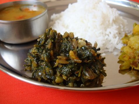 Palakura Vepudu ~ Spinach Stir fry (2)