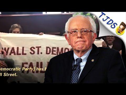 17 Nov '16:  Despite Protester Bravery, Bernie Sanders Backs Big Money Chuck Schumer - YouTube - TJDS - 11:10