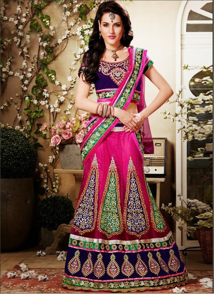 Rajasthani Styles Lehenga Choli for Brides 2016