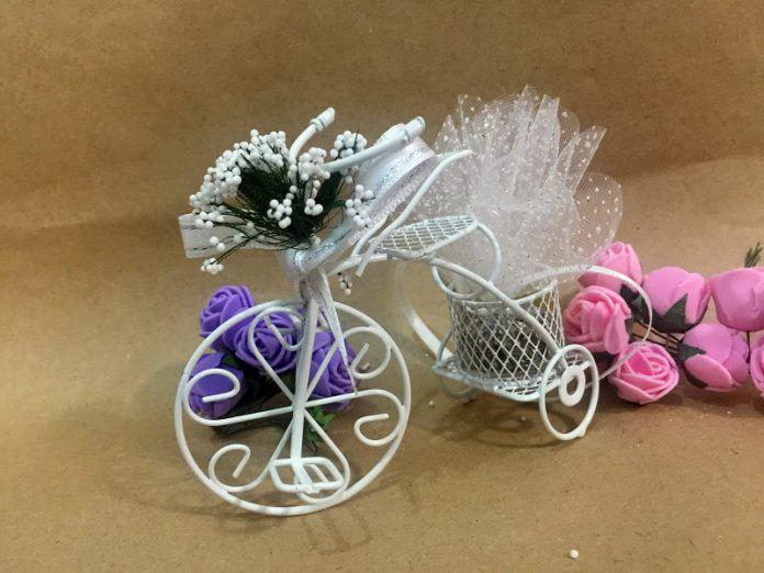 Bisiklet Nikah Şekeri Modelleri, Yapımı ve Malzemeleri