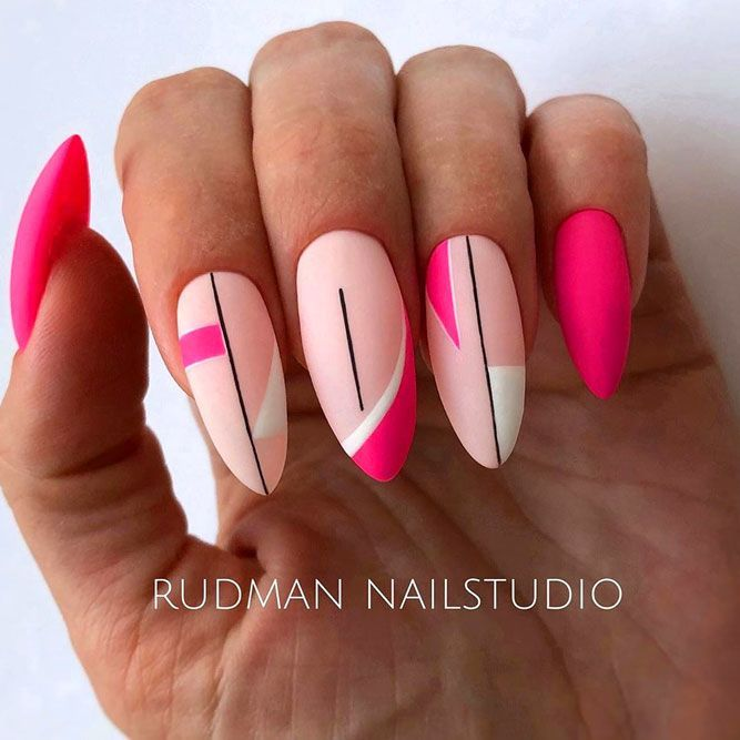 Sweet Pink Nails ❤ Hot Almond Shaped Nails Colors To Get You Inspired To Try ❤ See more ideas on our blog!!! #naildesignsjournal #nails #naildesigns #almondnails