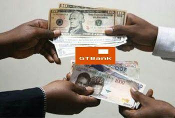 GTBank Naira Dollar Pounds Euro Exchange Rate Today November 2017