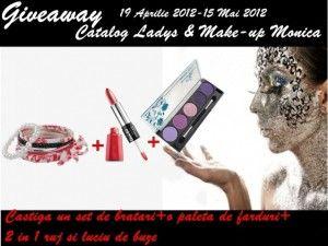 Concurs organizat de Catalog Ladys in colaborare cu Make-up Monica.