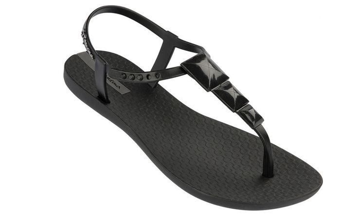 iPANEMA Charm Ladies Sandal Black | iPANEMA flip flops and sandals from ipanemaflipflops.co.uk - ipanemaflipflops.co.uk