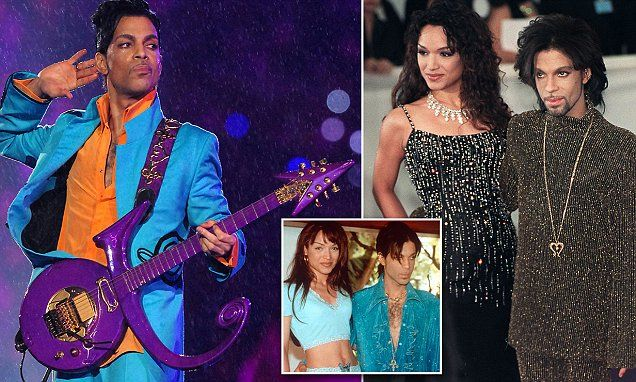 Prince's ex-wife speaks out about his decades of addiction.....This  is  one  reason  I  wouldn't  buy that  bullshit  book . ..Anything  for  money . .