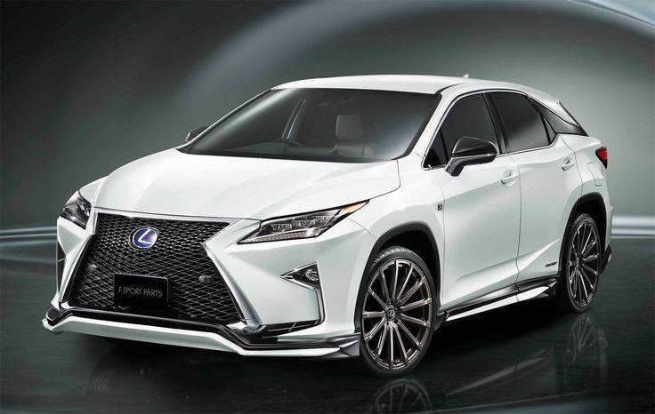 Toyota Racing Development neemt Lexus RX onder handen
