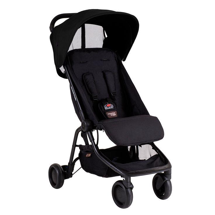 nano travel stroller - black