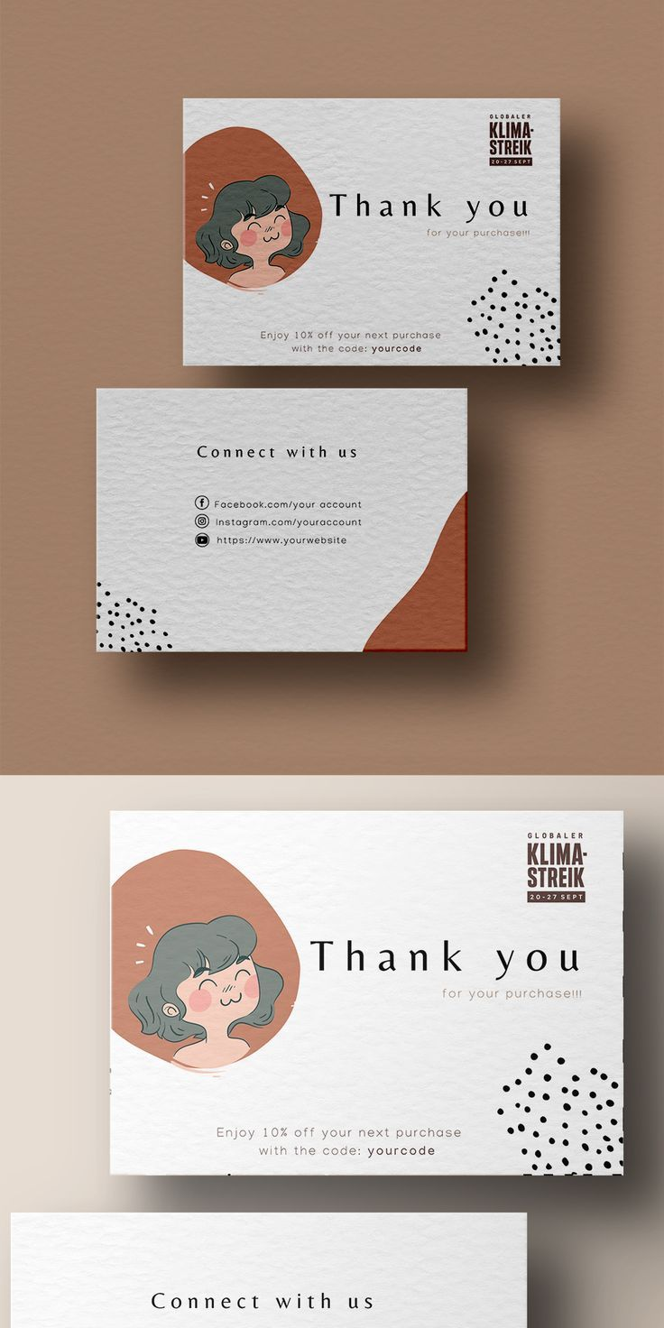 Thank You For Your Order Card Business Stationerycard Etsy Graphic Design Business Card Business Card Design Business Cards Creative