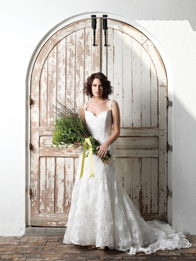 Dress by Levana Brides Wedding Inspirations Summer (September 2012) issue.