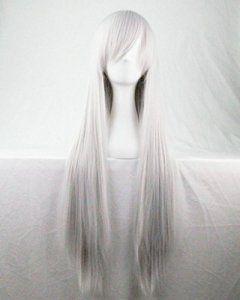 Photo Pal 80cm Femmes Sexy Perruques de Cheveux Droites Déguisement Perruques Cosplay Costume Partie Pleine Perruque Dames