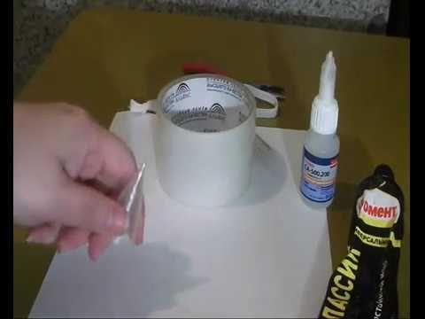 видео Мастер Класс как сделать шприц для листиков из силикона
