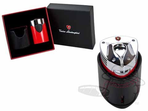Lamborghini Table Cigar Lighter - Red - Best Cigar Prices