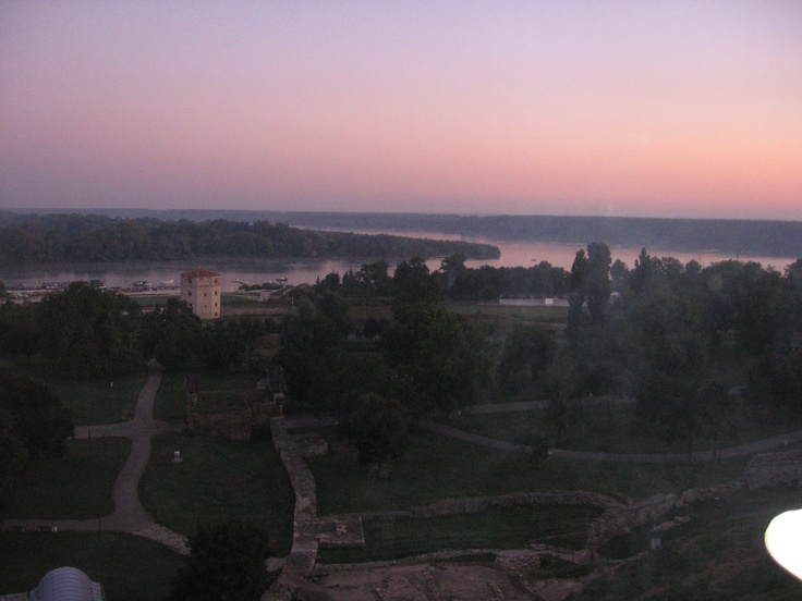 The early view from Kalemegdan, Belgrade... ;)
