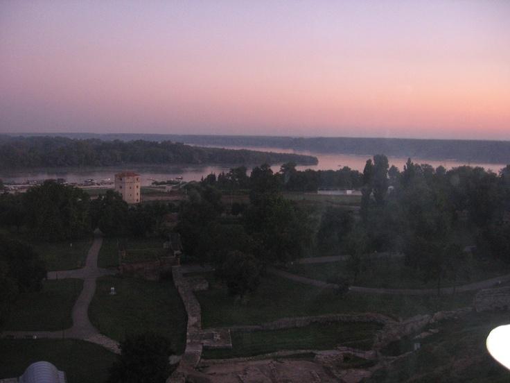 The early view from Kalemegdan, Belgrade... ;)