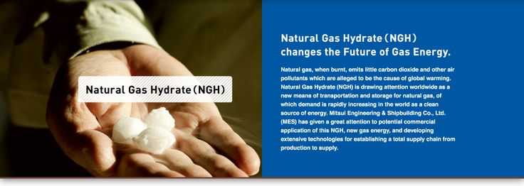 Natural Gas Hydrate(NGH)